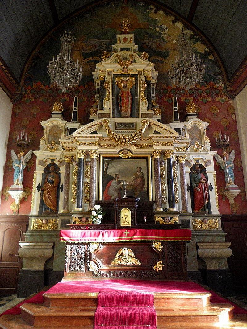 Maitre autel et son retable